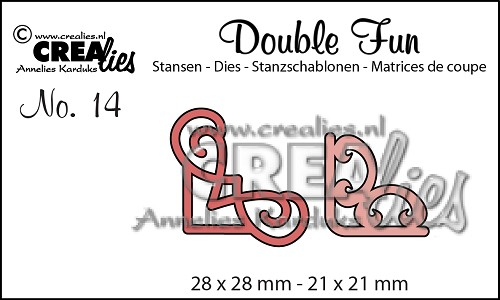 Double Fun stansen no. 14, Hoekjes 2