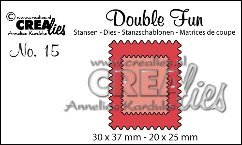 Double Fun stansen no. 15