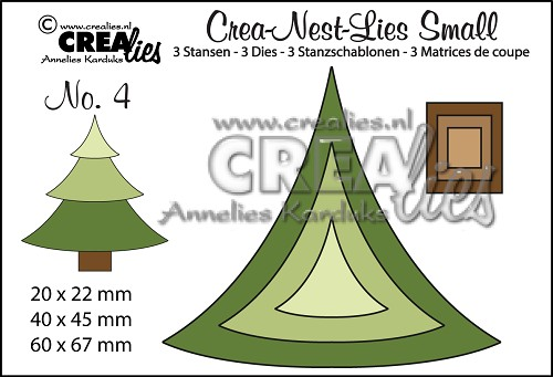 Crea-Nest-Lies Small dies no. 4, Tree