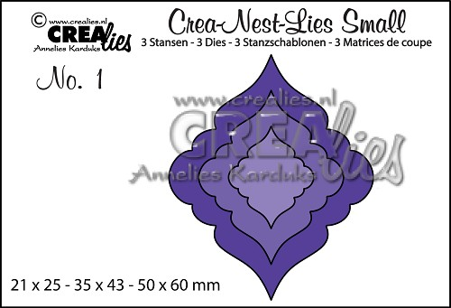 Crea-Nest-Lies Small dies no. 1, Christmas ornament 1