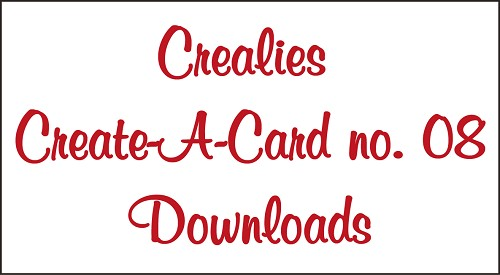 Downloads Crealies Create A Card no. 08