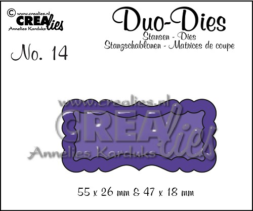 Duo Dies no. 14, Duo Labels 1