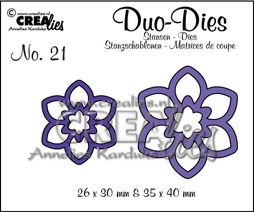 Duo Dies no. 21, Flowers 12