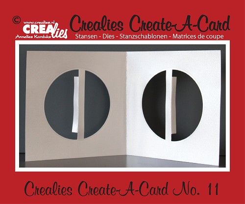 Crealies Create A Card die no. 11