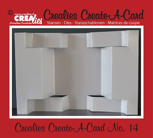 Crealies Create A Card die no. 14