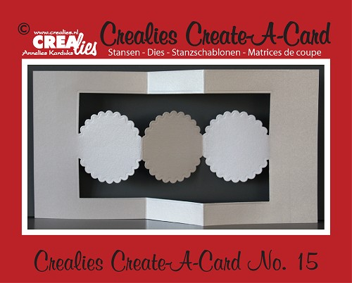 Crealies Create A Card die no. 15