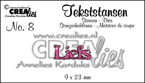 Tekststans no. 8 Liefs