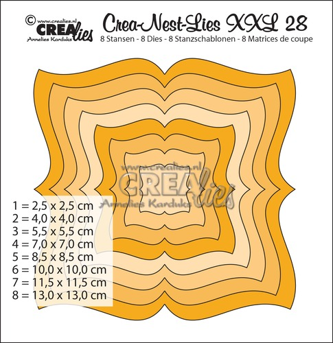 Crea-Nest-Lies XXL dies no. 28