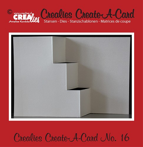 Crealies Create A Card stans no. 16