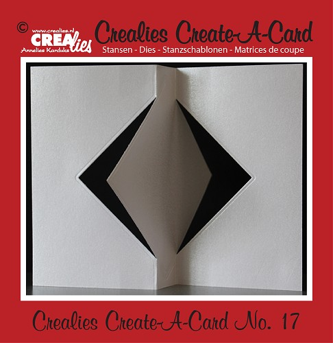 Crealies Create A Card die no. 17
