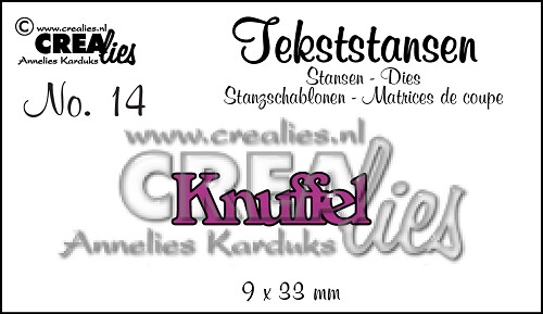 Text Dies no. 14 Knuffel
