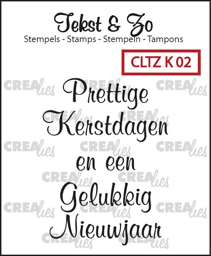 Tekst & Zo stamps Christmass 2
