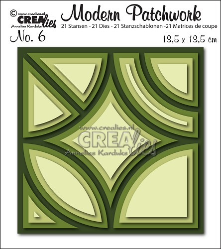 Modern Patchwork die set no. 6 smooth