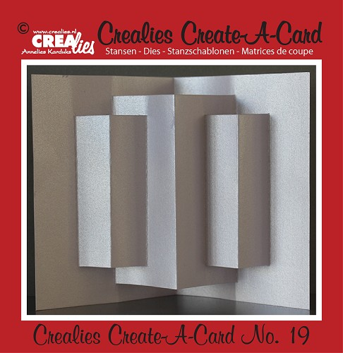 Crealies Create A Card die no. 19
