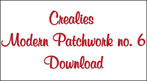 Download Modern Patchwork no. 6