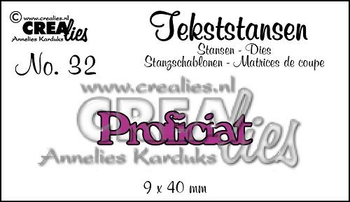 Tekststans no. 32 Proficiat
