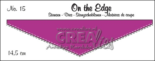 On the Edge stans no. 15, Met dubbele stiksteeklijn
