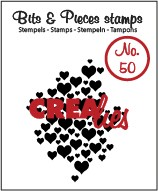 Bits & Pieces stempel no. 50