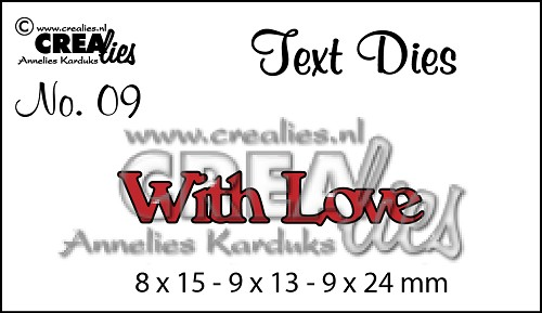 Text Die no. 09 With Love