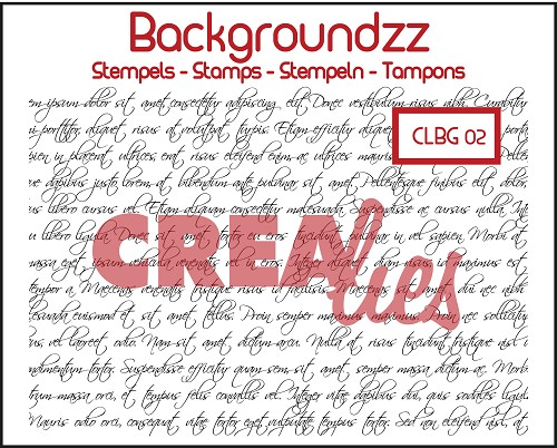 Backgroundzz no. 2, Curly handwriting