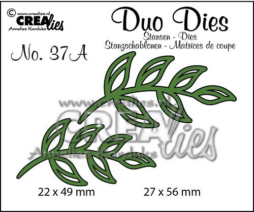 Duo Dies no. 37A, Blaadjes 5 spiegelbeeldig