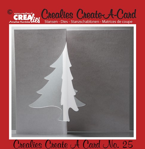 Crealies Create A Card die no. 25