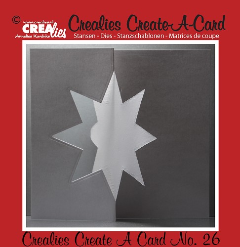 Crealies Create A Card die no. 26