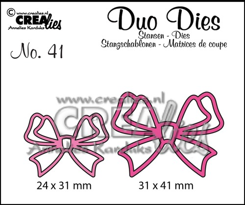 Duo Dies no. 41, Strikjes / Bows