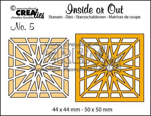 Inside or Out dies no. 5, Block star
