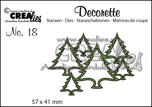 Decorette die no. 18, Trees