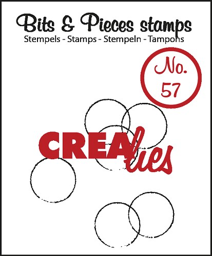 Bits & Pieces stempel no. 57, Grunge circles