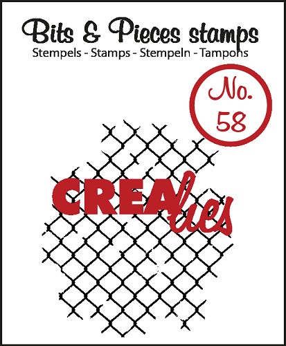 Bits & Pieces stempel/stamp no. 58, Thin mesh