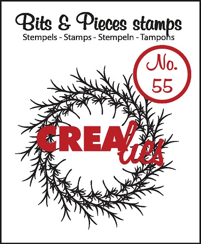 Bits & Pieces stamp no. 55, Wreath