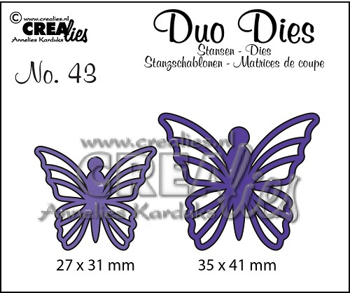Duo Dies no. 43, Butterflies 5