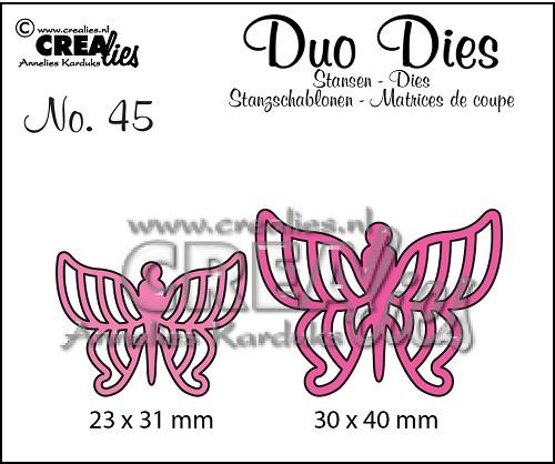 Duo Dies no. 45, Vlinders 7 / Butterflies 7