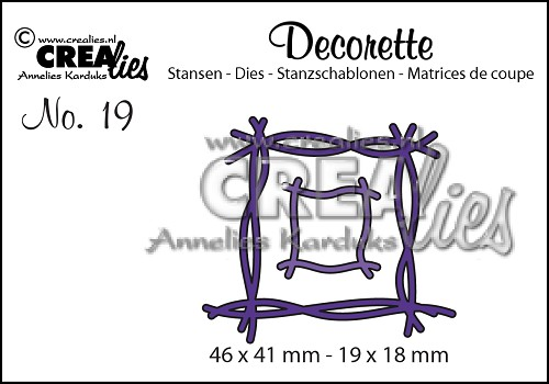 Decorette die no. 19, Twigs