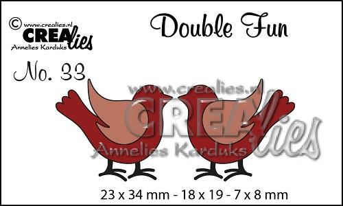 Double Fun stansen no. 33, Vogeltjes