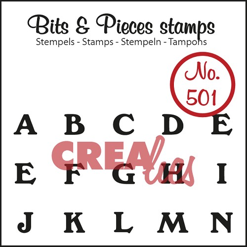 Bits & Pieces stempel no. 501 A t/m N
