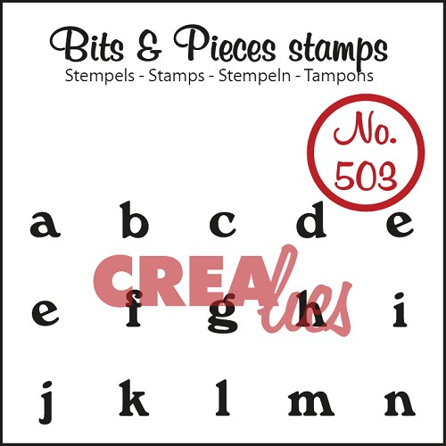 Bits & Pieces stempel no. 503 a t/m n
