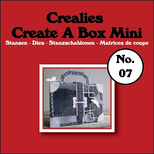 Create A Box Mini die no. 07, Suitcase