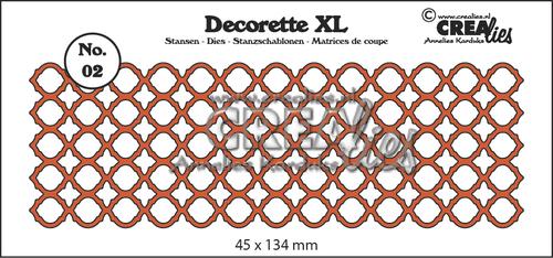 Decorette XL stans no. 02, Bogen