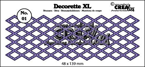 Decorette XL stans no. 01, Wyber met stiksteeklijn