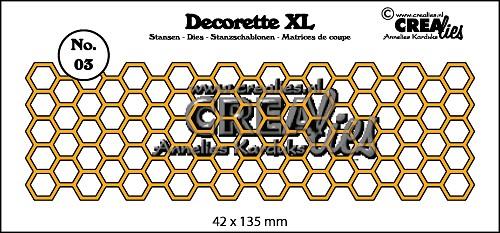 Decorette XL stans no. 03, Honingraat