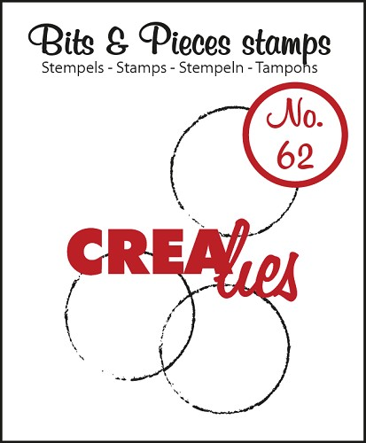 Bits & Pieces stempel/stamp no. 62 Big grunge circles