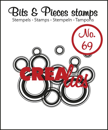 Bits & Pieces stamp no. 69 Lots of circles