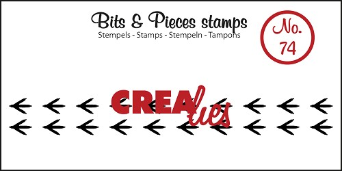 Bits & Pieces stempel no. 74 Paws bird
