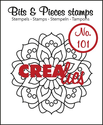Bits & Pieces stempel no. 101 Mandala A