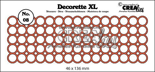 Decorette XL die no. 08, circles