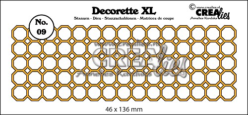 Decorette XL die no. 09 octagons