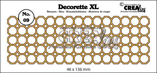 Decorette XL stans no. 09 achthoeken